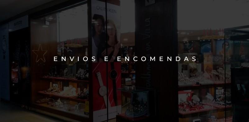 ENVIOS E ENCOMENDAS