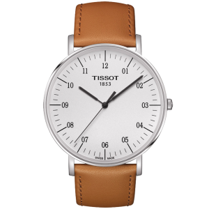 Everytime Big Gent White/brown (Classic) T109.610.16.037.00