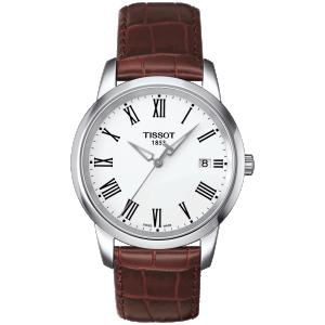 Classic Dream Leather Brown/white (Classic) T033.410.16.013.01