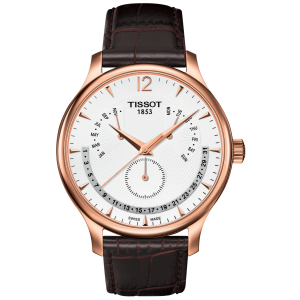 Tradition Perp Cal Pvd Slv/brw Le (Classic) T063.637.36.037.00