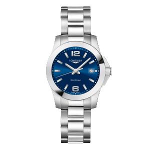 Longines Conquest Lady Blue 34Mm Ref.L33774966