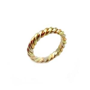 Aliança em Ouro Tricolor Torcida AL00832
